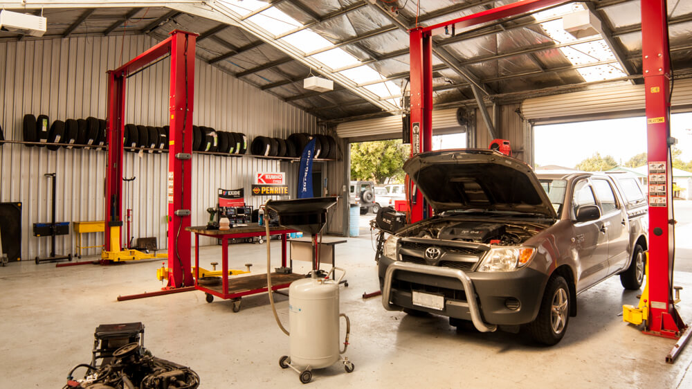 Workshop Car Lifts Westwood Mechanical Blenheim NZ
