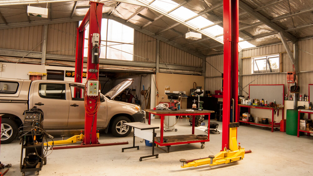 Workshop Westwood Mechanical Blenheim NZ